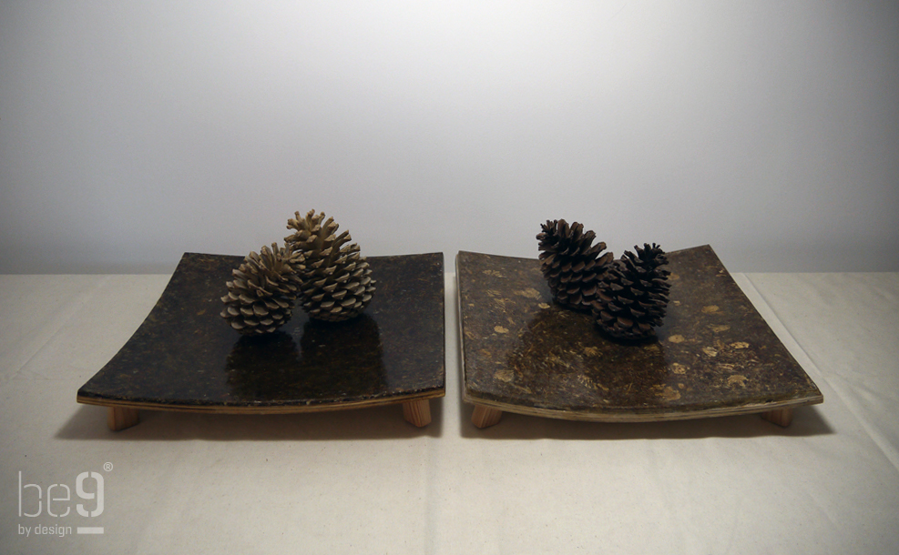 Square pinecone chip plateaus