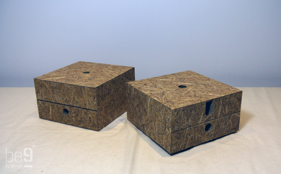 Two table boxes